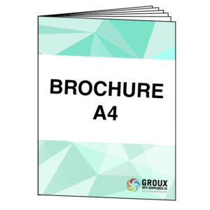 Brochures A4